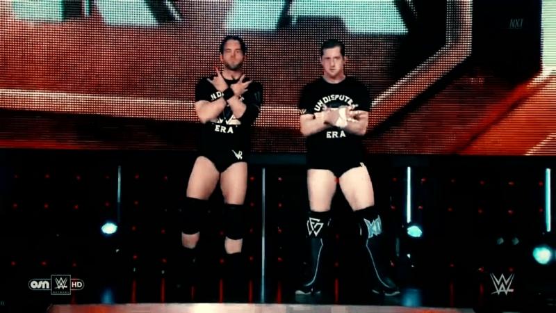 Undisputed Era vs Moustache Mountain NXT 11.07.2018 Highlights
