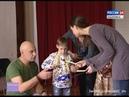 Вести-Хабаровск. Репетиция спектакля с незрячим мальчиком в главной роли 2.02.2017