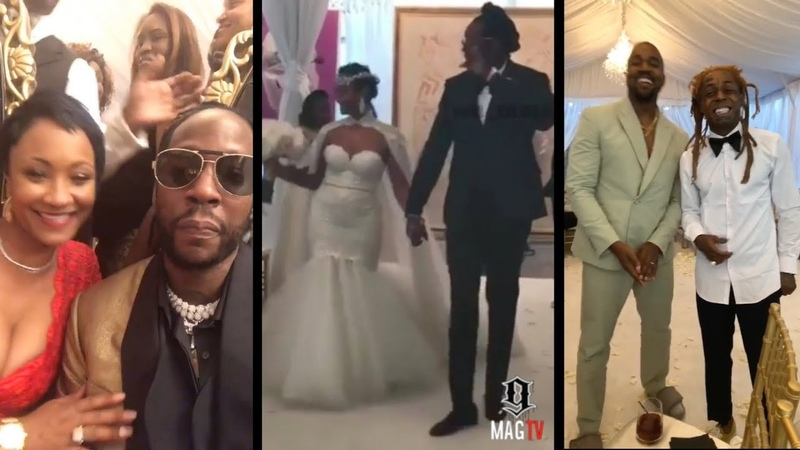 2 Chainz Marries Kesha Ward With Kanye Lil Wayne In Attendance!