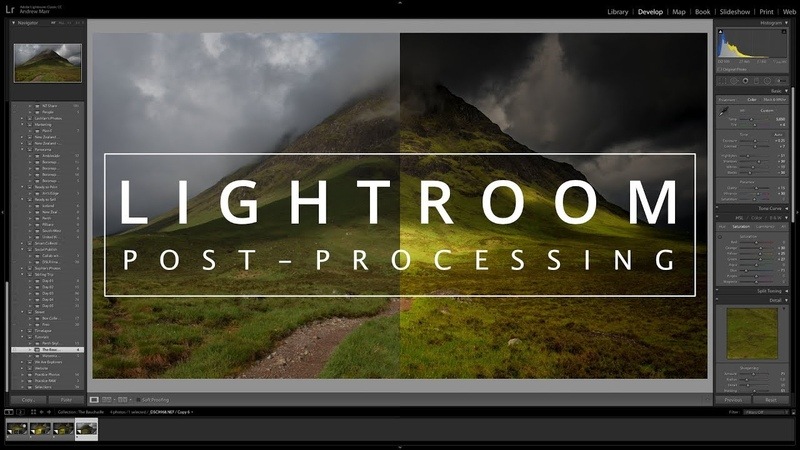 Lightroom Editing Tips   Post processing a Landscape Image to Enhance Depth and Drama