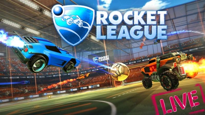 Пинаем мяч в Rocket League ПРИСОЕДИНЯЙТЕСЬ!! (Стрим)
