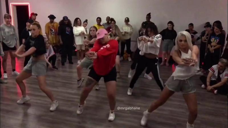 Paris Goebel class (Kirsten Dodgen, Shyvon Campbell)_ Nicki Minaj Coco Chanel _ Kreativmndz Dance complex LA