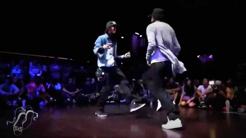 Les Twins - Dans Grubu Control Freakz Les Twins vs Zamounda - Final