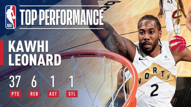 Kawhi Leonard Scores An Efficient 37 Points (12-16 FG) | December 21, 2018