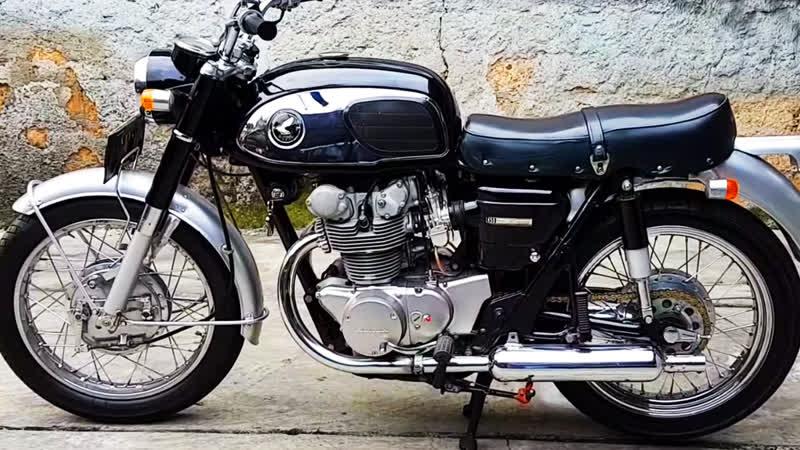 Мотоцикл Honda CB450 BlackBomber, 1965 года