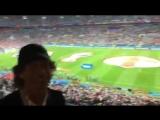 Болельщик за Англию Мик Джаггер на стадионе ''Зенит Арена'' в Санкт-Петербурге.