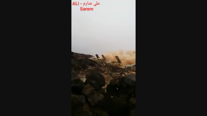 Сирия 10.11.18 - пуски с ракетных установок Голан-250