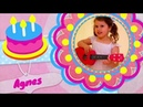 Birthday party song and celebrate with Agnes