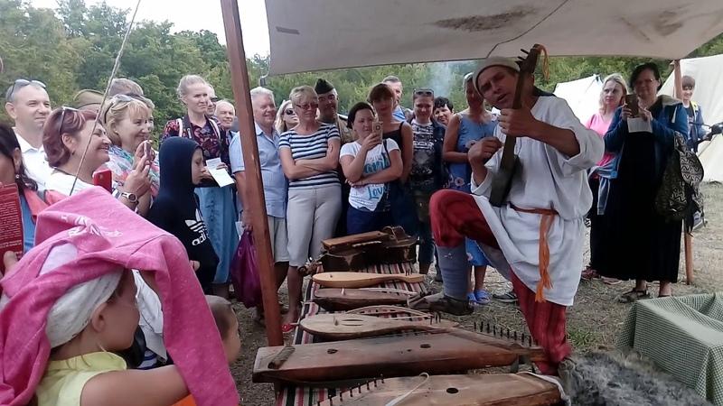 Игра на древнерусских инструментах. Федюхин фестиваль-208