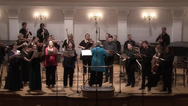 H Purcell Come ye Sons of Art Z 323 Ode for Queen Mary's birthday Croatian Baroque Ens Antiphonus C Mackintosh