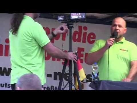 PEGIDA Dresden 10.09.2018 Eine Brandrede von Siegfried Daebritz