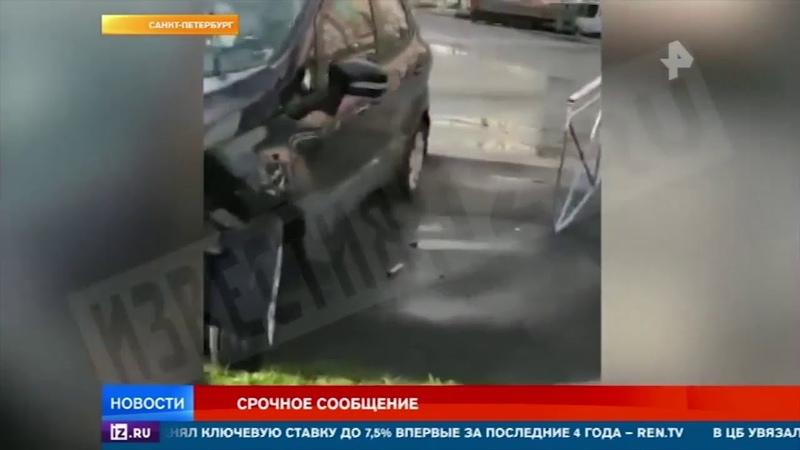 Четыре человека пострадали в ДТП в Петербурге