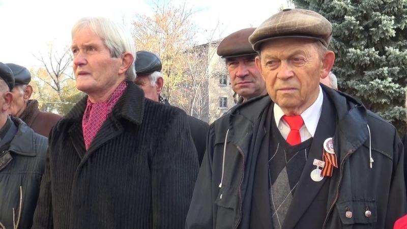 В Стаханове почтили память инициатора и организатора Стахановского движения К.Г. Петрова