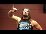 WWE Champion AJ Styles has a message - Albany Civic Center