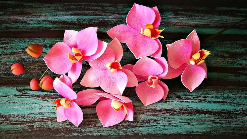 Светильник орхидея Часть 1