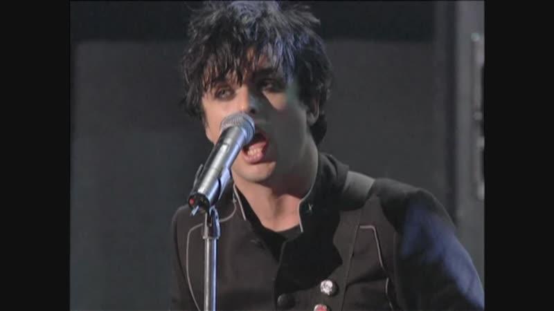 Green Day Boulevard of Broken Dreams MTV Video Music Awards