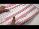 Шьем Коврик из полосок ткани