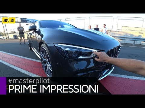 Mercedes AMG GT 63 S 4 porte 4Matic | Com'è dal vivo