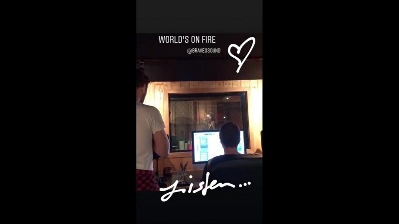 Социальные сети: Публикация Никки в Instagram за 11/09/18