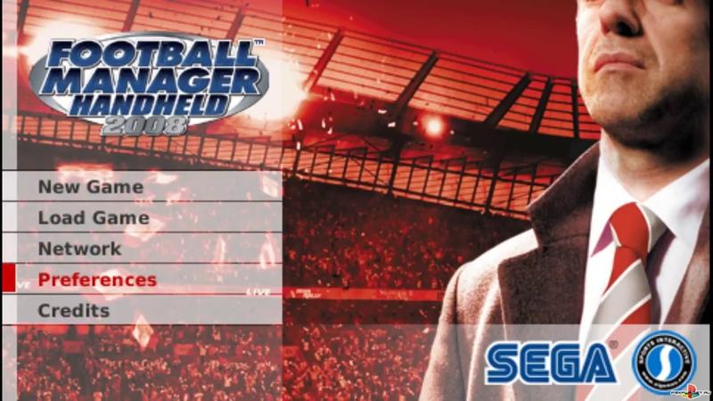 (PSP) Football Manager Handheld 2008 (ULES-00934) Gameplay PSXPLANET.RU
