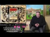 CONSEIL DE LA RESISTANCE - 3 pr