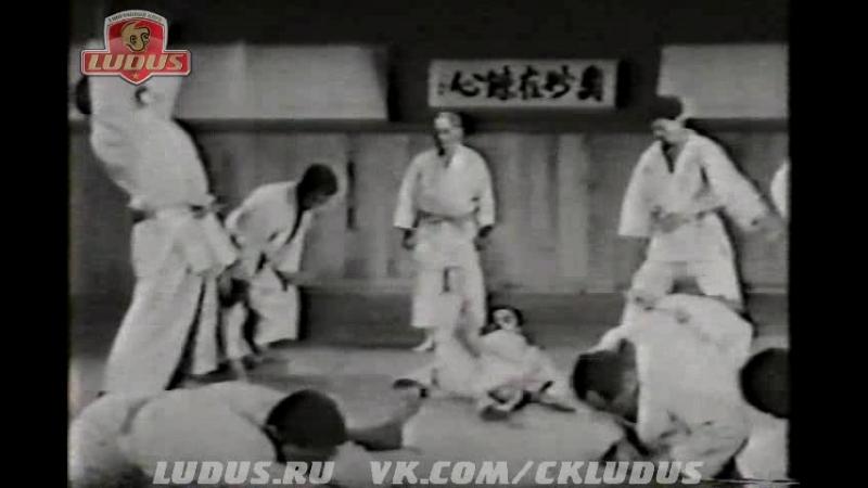 Тренировки кодокан дзюдо с Кюдзо Мифуне (10 Дан дзюдо)