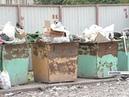 Мусоровозы начали очищать заваленные контейнерные площадки в г. Назарово