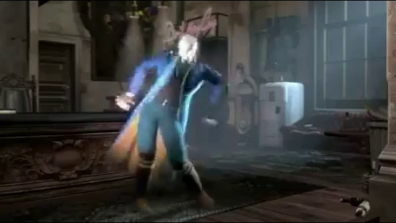 Vergil Excited For Devil May Cry 5 | 😂😅 | Vergil Funny Dance