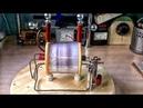 БТГ генератор который при сьеме тока не только не тормозит А еще и увеличивает обороты КПД 300%