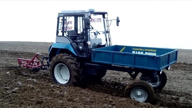 Трактор Т 16 попрошайка ММЗ 30ТД второе рождение