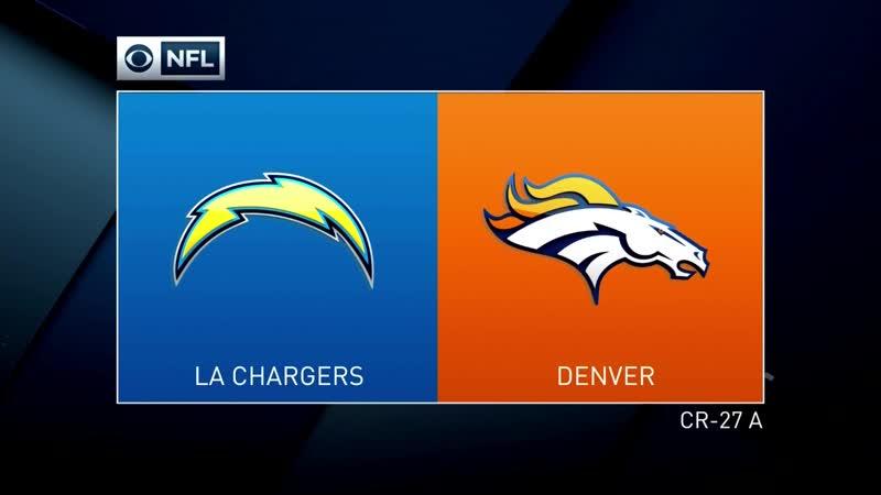 NFL 2018 / Week 17 / Los Angeles Chargers - Denver Broncos / 1H / EN