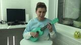 Кавер на песню Moon river на укулеле + оригинал из Breakfast at Tiffany