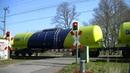 Spoorwegovergang Mehrhoog (D) Railroad crossing Bahnübergang