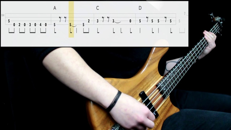 Guns N' Roses - Sweet Child O' Mine (Bass Cover) (Play Along Tabs In Video)