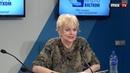 Актриса театра и кино Мирдза Мартинсоне в программе Зеленая лампа MIX TV