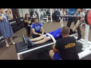 Областные паралимпийские соревнования по пауэрлифтингу (11.07.18) часть 1