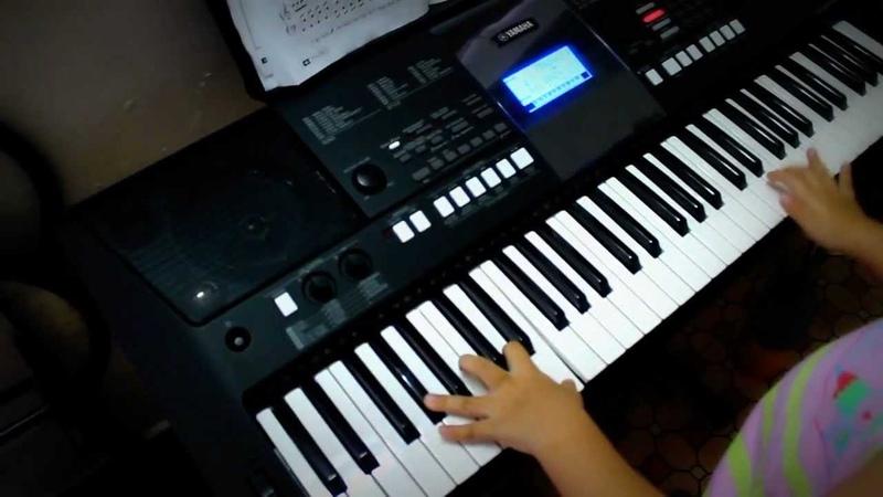 BAHAMA MAMA - Dan Organ Keyboard - Be Le Tran Bao Ngoc 05 tuoi
