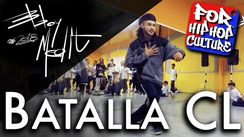 Batalla CL Hip Hop Speech Workshop Milan Italy