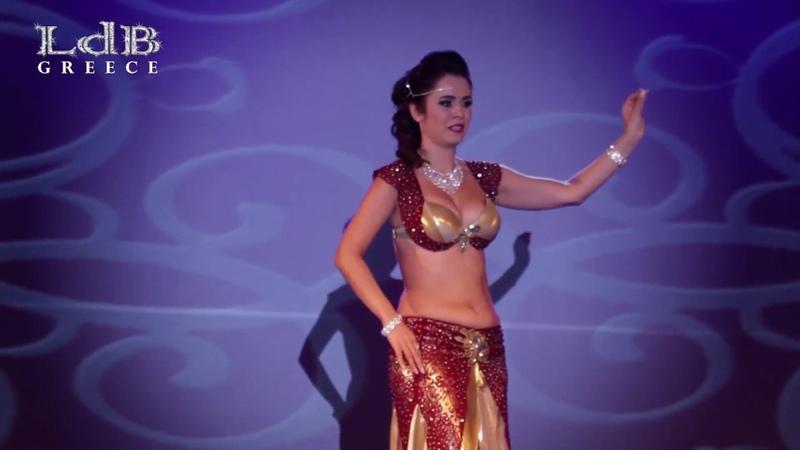 Lia Verra Oriental Katyusha @ LdB Greece Belly Dance Festival Teachers Gala