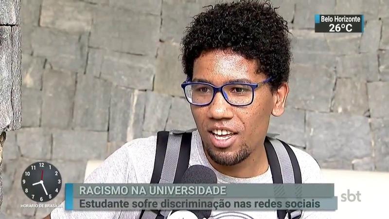 Estudante de São Paulo é alvo de racismo nas redes sociais | SBT Brasil (15/03/18)