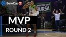 7DAYS EuroCup Regular Season Round 2 MVP Kenneth Kadji Tofas Bursa
