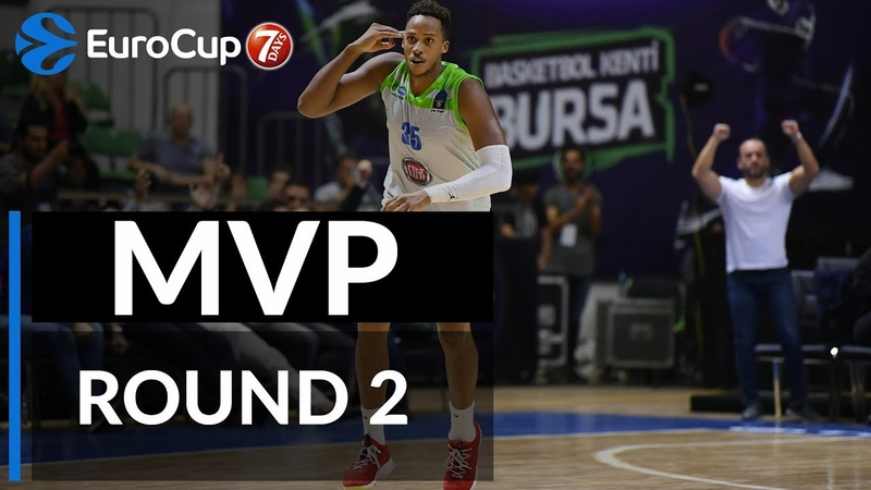7DAYS EuroCup Regular Season Round 2 MVP: Kenneth Kadji, Tofas Bursa