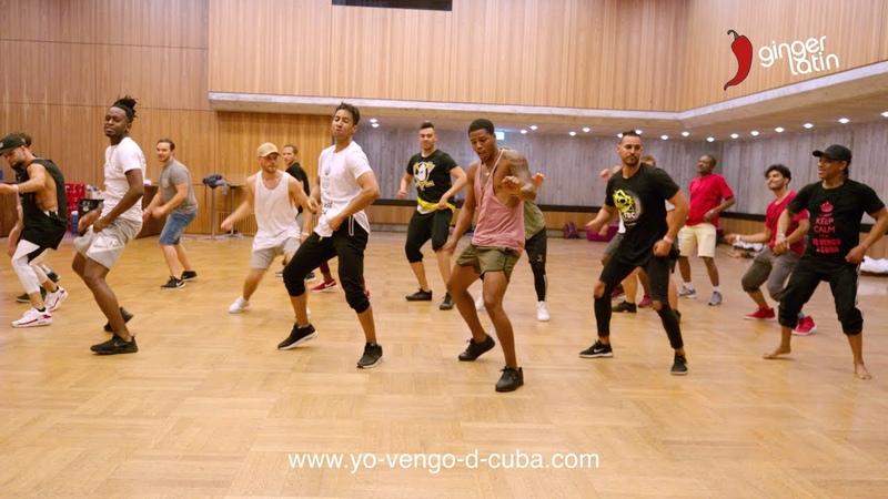 Gentlemen Dance Battle - Yo Vengo de Cuba 2018 - Cuban Salsa Power Congress