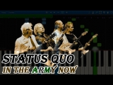 Status Quo - In The Army Now (Live in London 2016)