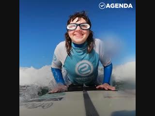 Море и слепая серфингистка