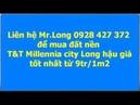 Đất nền TT Millennia city Long hậu giá rẻ từ 9tr phần 4 vị trí giao thông thuận tiện