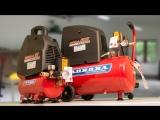 Bora - Боря на работе. Безмасляные компрессоры на 6 и 25 литров