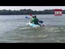 Любители сапов и каяков Измаила отметили праздник гонкой по Дунаю
