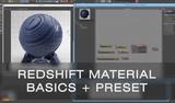 Material Basics in Redshift Renderer for Cinema 4D Tutorial (&amp Preset!)