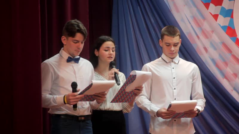 Инаугурация президента ученического самоуправления п.Высокий